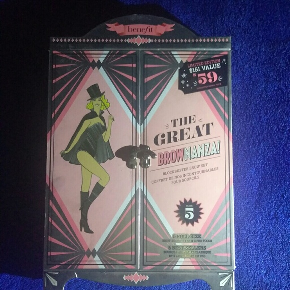 Benefit Other - Benefit 'The Great Brownanza' packaging